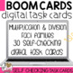 Multiplication Fact Families Boom Cards