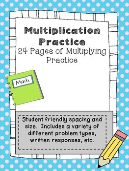 Multiplication: Fact Families, Patterns, Arrays, Equal Groups, Story Problems