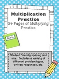 Multiplication: Fact Families, Patterns, Arrays, Equal Gro