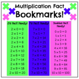 Multiplication Fact Family Bookmarks!
