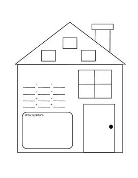 Multiplication Fact Family House