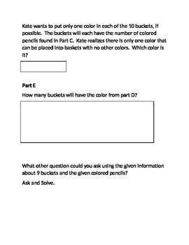 Multiplication Fact Family Task
