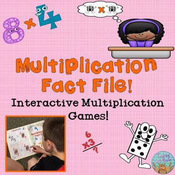 #Stockupsale Multiplication Fact File! Interactive Multipl