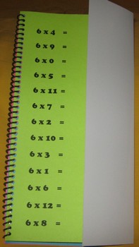 Multiplication Fact Flip
