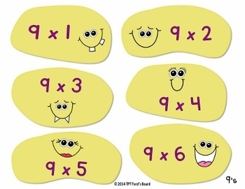Multiplication Facts Games