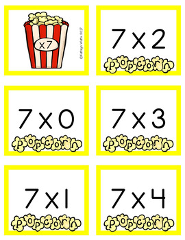 Multiplication Fact Fluency