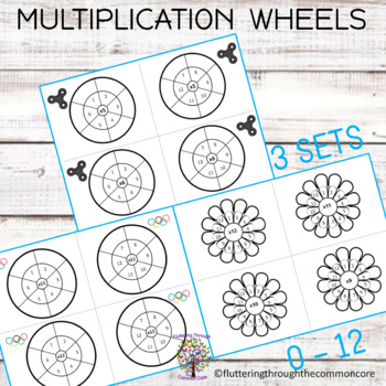 Multiplication Fact Fluency Math Center