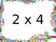 Multiplication Fact Fluency Brain Breaks