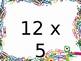 Multiplication Fact Fluency Brain Breaks - Multiplication by 12s