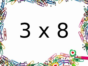 Multiplication Fact Fluency Brain Breaks - Multiplication by 3s
