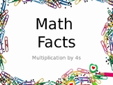 Multiplication Fact Fluency Brain Breaks - Multiplication by 4s