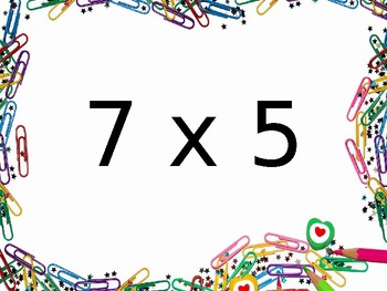 Multiplication Fact Fluency Brain Breaks - Multiplication by 5s