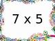 Multiplication Fact Fluency Brain Breaks - Multiplication by 7s