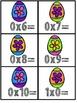 Multiplication Fact Fluency Cards for April