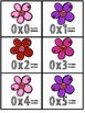 Multiplication Fact Fluency Cards for Februrary