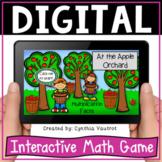 Multiplication Fact Fluency Digital Game for Google Slides
