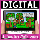 Multiplication Fact Fluency Digital Game for Google Slides