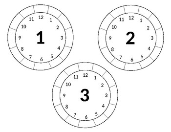 Multiplication Fact Fluency Dry Erase Practice