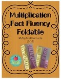 Multiplication Fact Fluency Foldable