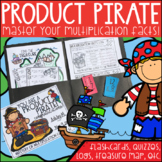 Multiplication Fact Fluency Folders: Become a PRODUCT PIRATE!