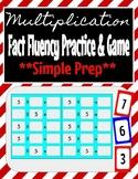Multiplication Fact Fluency/Game: Easy Prep