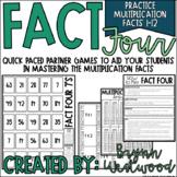 Multiplication Fact Fluency Games