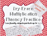 Multiplication Fact Fluency Grades 3-5 Math Center and Rem