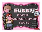 Multiplication Fact Fluency Incentive Program