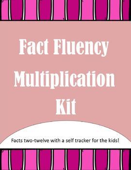 Multiplication Fact Fluency Kit