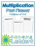 Multiplication Fact Fluency - Multiples of 0-12