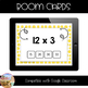 Multiplication Fact Fluency - Multiples of 1, 2 & 3 - Boom Cards