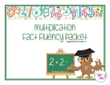 Multiplication Fact Fluency Packet