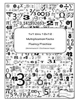 Multiplication Facts Fluency Practice
