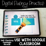 Multiplication Fact Fluency Practice | Google™ Slides | Se