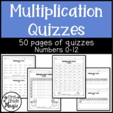 Math Multiplication Worksheets Facts up to 12
