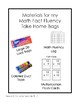 Multiplication Fact Fluency Take Home Activities