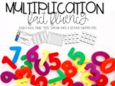 Multiplication Fact Fluency (Timed Tests, Flash Cards, Cer