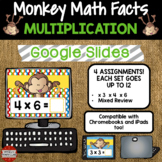 Multiplication Fact Fluency x3, x4, and x6 using Google Classroom