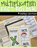 Multiplication Fact Folder