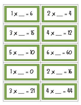 Multiplication Fact Fun