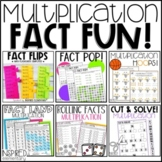 Multiplication Fact Fun Bundle: Multiplication Worksheets,