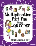 Multiplication Fact Fun Bundle using QR Codes and Links Li