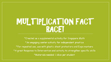 Multiplication Fact Game: an independent activity for math
