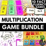Multiplication Fact Games Bundle #1