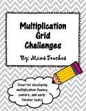 Multiplication Fact Grid Challenges