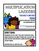 Multiplication Ladders: Computation & Fact Practice Freebie!