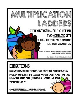 Multiplication Ladders: Computation & Fact Practice