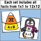 Multiplication Fact Match Puzzles BUNDLE