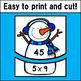 Multiplication Fact Match Puzzles (Snowman Theme)
