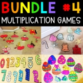 Multiplication Fact Number Puzzles
